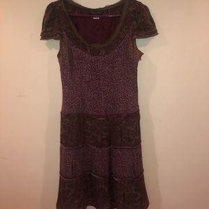 Peruvian connection bohemian short dress